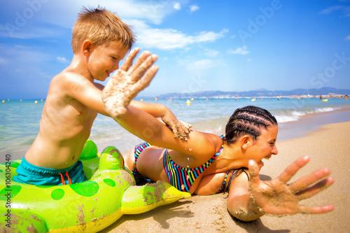 Spaß Am Strand
