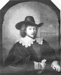 Brussels Museum, A portrait of Rembrandt, vintage engraving.