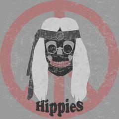 hippie skull