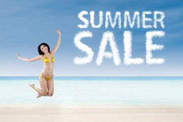 Summer sale promotion concept 1