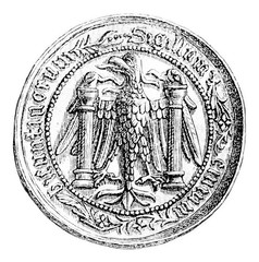 Small seal of the town of Besancon, middle of the fifteenth cent