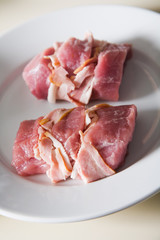 roll pork ham