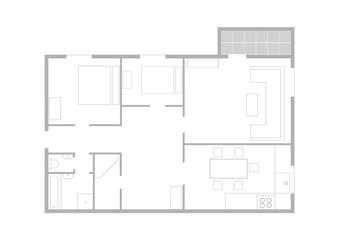 Чертеж квартиры