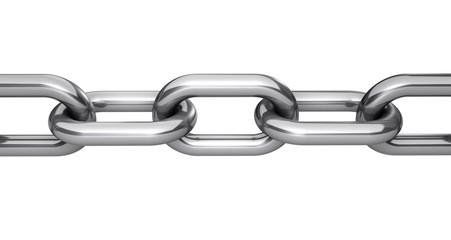 Steel Chain Links Concept