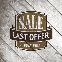 Sale Tag or Sale Labels