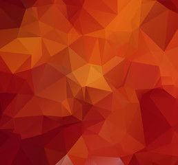 Polygonal vector abstract geometric background