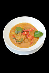 Isolated Duck Curry