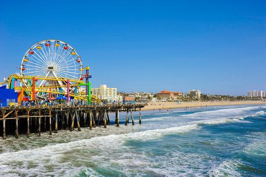 Santa Monica Pier, California, U.S.A
