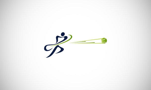 tennis design logo