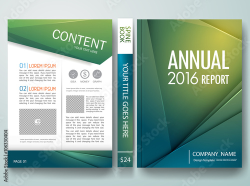 Vectormodern Flyers Brochurecoverannual Reportdesign Templates - Annual report design templates 2016