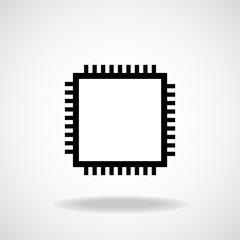 Cpu. Microprocessor. Microchip