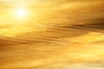 sand cloud on the sky