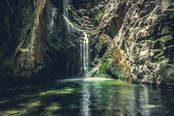 Photo sur Aluminium Chypre waterfall in mountains of troodos, Cyprus