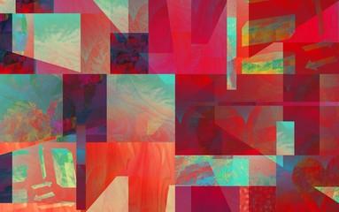 Collage Bunt