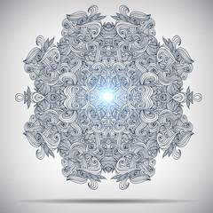 Ornament round mandala. Geometric circle. Perfect set for any kind of design, birthday and other holiday, kaleidoscope, medallion, yoga, india, arabic.