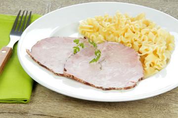 rôti de porc et pâtes 26032016