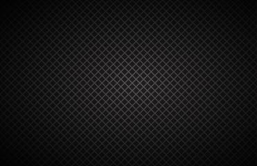 Geometric squares background, abstract black metallic wallpaper, vector illustration