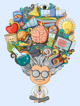 Dream and thought of scientist