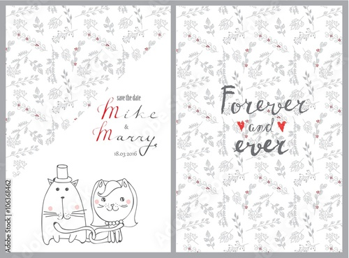 doodle line design of web banner template with outline cartoon