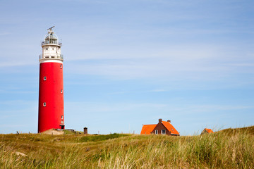 Red Lighthouse  Wall mural