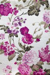 Vintage rose fabric background