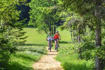 Mit dem Mountainbike raus in die Natur