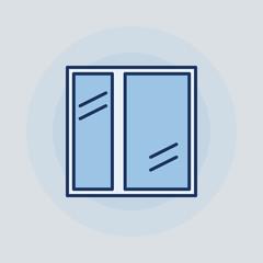 Window flat icon