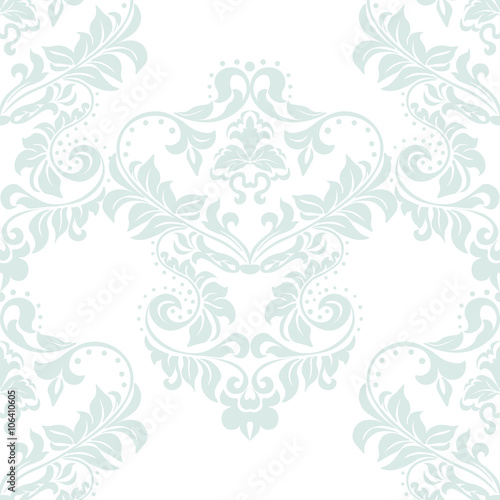 Vector Damask Classic Royal Elegant Pattern Ornament Design Decor Element For Wallpapers Fabric