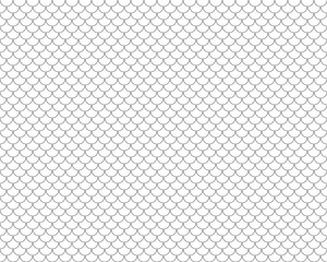 fish scales seamless horizontal background