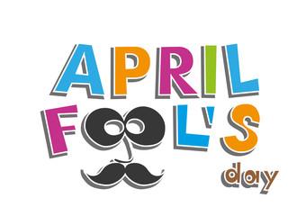 April Fools Day. vector illustration