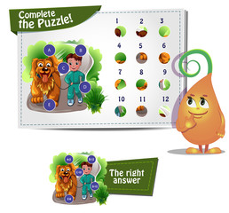 Сomplete the puzzle