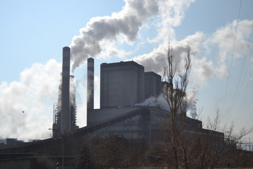 A thermal power station
