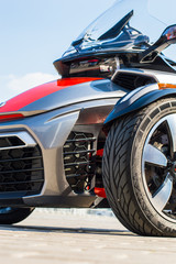 Trike motorcycle photography
