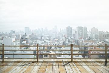 Observation platform city