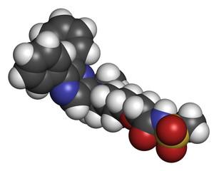 Selexipag pulmonary arterial hypertension drug molecule.