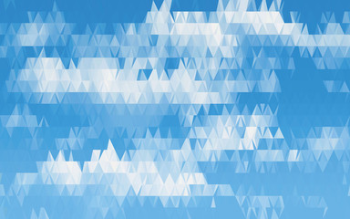 vector background, Geometric clouds, low polygon, triangle, stock vectors, vector graphics