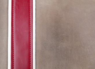 Rough leather background
