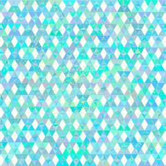 Tiffany. triangle seamless pattern