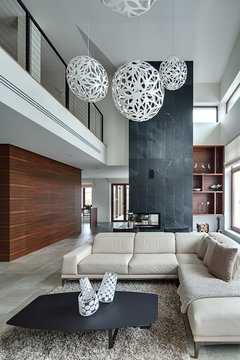 Interior in a modern style