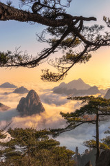 Mt. Huangshan in Anhui, China