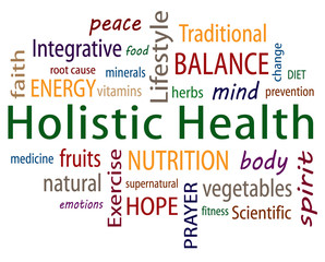 Holistic Health Word Cloud