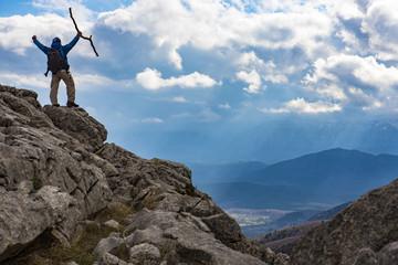 hedef sevinci ve dağcı başarısı