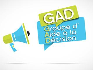 mégaphone : GaD