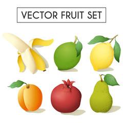 fruit decorative set