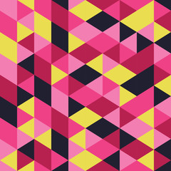 Seamless vector background with abstract geometric shapes. Print. Cloth design, wallpaper.