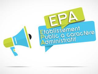 megaphone : EPA