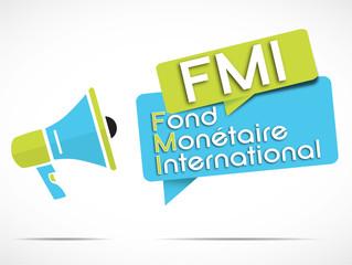 mégaphone : FMI