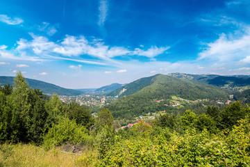 Mountains in Carpathians, Ukraine