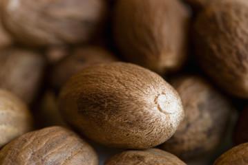 Nutmeg closeup