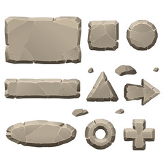Stone game design elements
